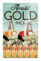 Amstel Gold Race Picture Frame print