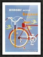 Bicycle Hidori Picture Frame print
