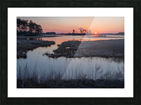 Sunrise ap 2786 Picture Frame print