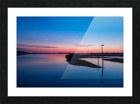 Sunset ap 2762 Picture Frame print