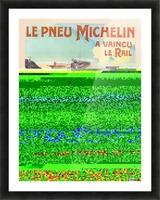 Le Pneu Michelin a vaincu le rail Impression et Cadre photo
