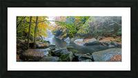 Slippery Rock Creek apmi 1934 Picture Frame print