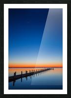 Twilight Sunset ap 1607 Picture Frame print