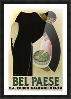 Bel Paese Picture Frame print