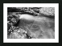 Roaring Run ap 1961 B&W Picture Frame print