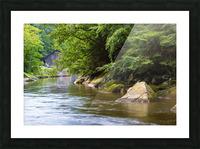 Slippery Rock Creek ap 1944 Picture Frame print
