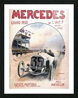 Mercedes Grand Prix Impression et Cadre photo