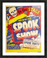 Spook Show Picture Frame print