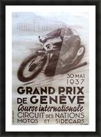 Grand prix de Geneve Impression et Cadre photo