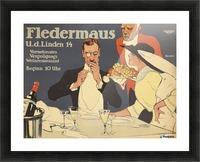 Fledermaus Picture Frame print