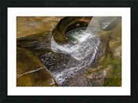Devils Bathtub ap 2055 Picture Frame print