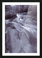The Basin ap 2162 B&W Picture Frame print