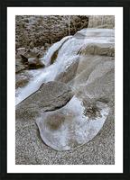Waterfall ap 2212 B&W Picture Frame print