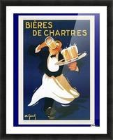 Bieres de Chartes Picture Frame print