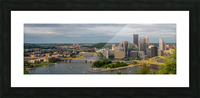Pittsburgh apmi 1698 Picture Frame print