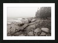 Boulders ap 2256 B&W Picture Frame print