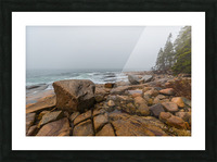 Boulders ap 2254 Picture Frame print