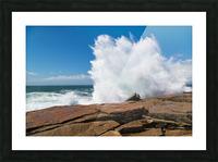 Crashing Wave ap 2309 Picture Frame print