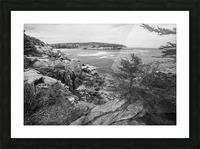 Acadia ap 2376 B&W Picture Frame print