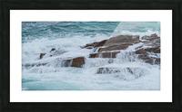 Crashing Waves ap 1535 Picture Frame print