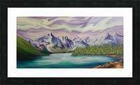 Beautiful Banff  Picture Frame print