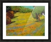 Sunny Lawn by Van Gogh Picture Frame print