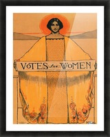 Votes for women Picture Frame print