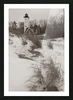 Lighthouse ap 2148 Picture Frame print
