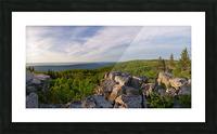 Bear Rocks at Sunrise apmi 1714 Picture Frame print