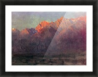 Sunrise in the Sierras by Bierstadt Picture Frame print