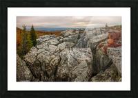 Bear Rocks Preserve apmi 1791 Picture Frame print