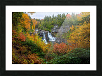 Blackwater Falls apmi 1904 Picture Frame print