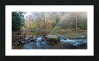 Cowanshannock Creek apmi 1970 Picture Frame print