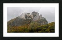 Seneca Rocks apmi 1881 Picture Frame print
