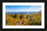Rock Slide apmi 1765 Picture Frame print
