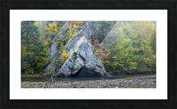 Rock Formations apmi 1868 Picture Frame print