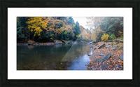 Slippery Rock Creek apmi 1961 Picture Frame print