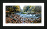 Slippery Rock Creek apmi 1938 Impression et Cadre photo