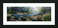 Slippery Rock Creek apmi 1931 Impression et Cadre photo