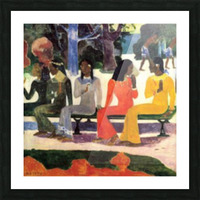 Ta Matete by Gauguin Picture Frame print