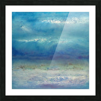 Infinity Beyond The Blue Picture Frame print