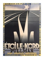 Etoile du Nord Picture Frame print