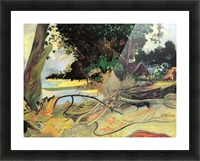 Te Burao by Gauguin Picture Frame print