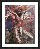 Red Christ by Lovis Corinth Picture Frame print