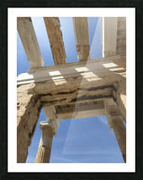 Acropolis of Athens Greece Picture Frame print