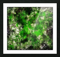 Green noise Picture Frame print