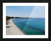 Greece coast near Lefkada Picture Frame print