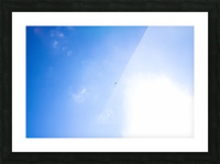 Into the Sun Picture Frame print