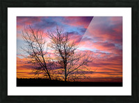 Painted Sky Picture Frame print