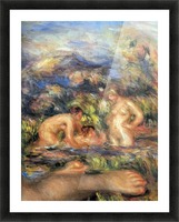 The bathers (Detail) by Renoir Picture Frame print